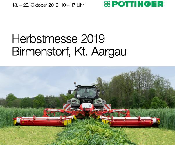 PÖTTINGER Herbstmesse 2019