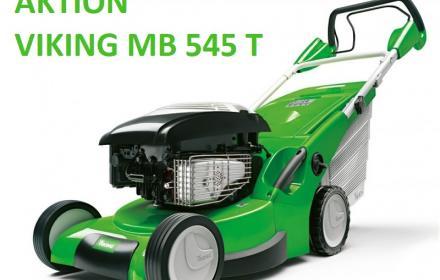 Rasenmäher Aktion MB 545 T